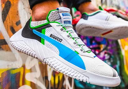 Shoes by Puma   Pirelli Design